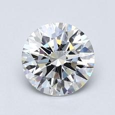 1.01-Carat Round Diamond Ideal G VVS1