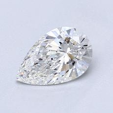 Recommended Stone #1: 0.71-Carat Pear Cut Diamond