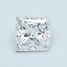 Recommended Stone #2: 0,84-Carat Princess Cut Diamond