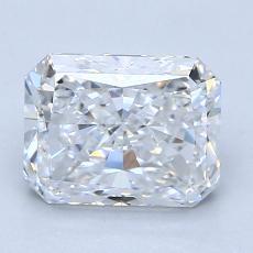 Pierre recommandée n°1: Diamant taille radiant 2,01 carats