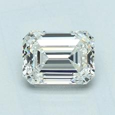 Recommended Stone #2: 1.02-Carat Emerald Cut