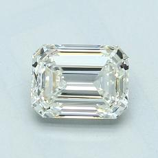 1.01-Carat Emerald Diamond Very Good J VVS2