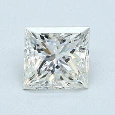 Pierre recommandée n°2: Diamant taille princesse 1,10 carat