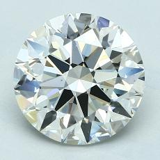 Recommended Stone #3: 3.09-Carat Round Cut Diamond