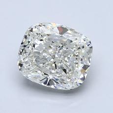 Pierre recommandée n°1: Diamant taille coussin 1,50 carats