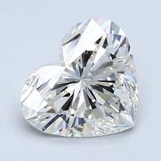 Piedra recomendada 3: Diamante con forma de corazón de 1.61 quilates