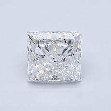 Pierre recommandée n°1: Diamant taille princesse 1,00 carat