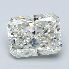 3.08-Carat Radiant Diamond Very Good I VVS2