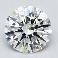 Pierre recommandée n°4: Diamant taille ronde 4,02 carat