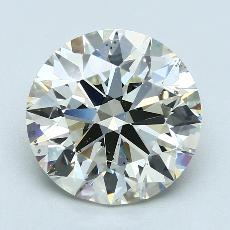 4.51-Carat Round Diamond Ideal K SI1