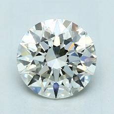 1.50 Carat 圆形 Diamond 理想 K VS2