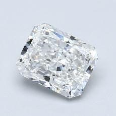 1.01-Carat Radiant Diamond Very Good F VVS2