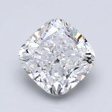 1.30 Carat 垫形 Diamond 非常好 F SI1
