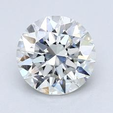 1.50-Carat Round Diamond Ideal H IF