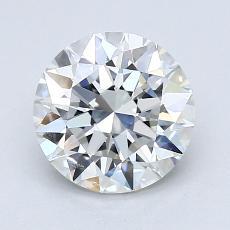 1.50 Carat ラウンド Diamond アイデアル H IF