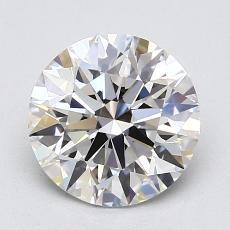 1.30 Carat 圆形 Diamond 理想 G VVS2