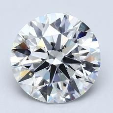 2.01-Carat Round Diamond Ideal G VS2