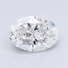 1,20-Carat Oval Diamond Very Good D VS2