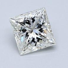 推荐宝石 3:1.07 克拉公主方形钻石