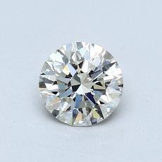 0,70-Carat Round Diamond Ideal K VS1