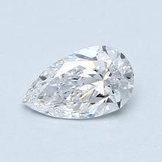 Pierre recommandée n°2: Diamant taille poire 0,51carats