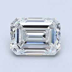 Recommended Stone #2: 1.50-Carat Emerald Cut Diamond