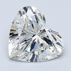 Recommended Stone #1: 2.02-Carat Heart Cut Diamond