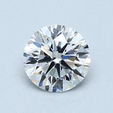 0,80 Carat Rond Diamond Idéale E FL