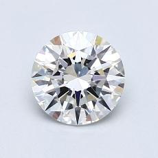 1.01 Carat 圆形 Diamond 理想 F VVS2