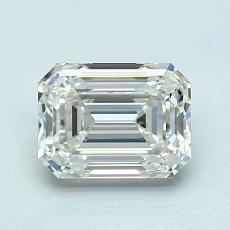 Pierre recommandée n°1: Diamant taille émeraude 1,31 carat