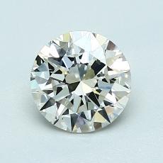 1.00-Carat Round Diamond Ideal K VS1