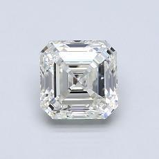Recommended Stone #1: 0.92-Carat Asscher Cut Diamond