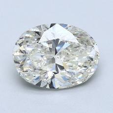 推荐宝石 4:3.01克拉椭圆形切割钻石