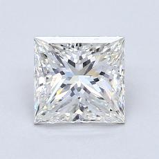 1.20 Carat 公主方形 Diamond 非常好 G VS2