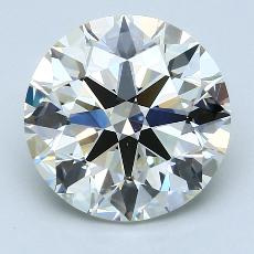 Pierre recommandée n°2: Diamant taille ronde 4,03 carat