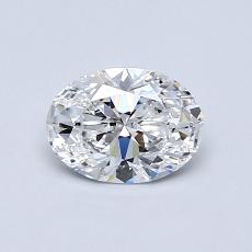 Recommended Stone #2: 0.70-Carat Oval Cut