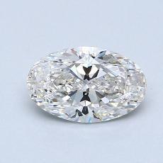 1.01 Carat 橢圓形 Diamond 非常好 G VS2