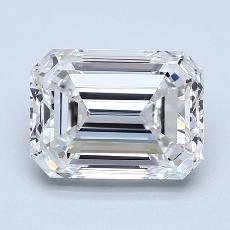 Recommended Stone #2: 2.60-Carat Emerald Cut Diamond