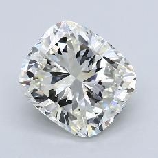 推荐宝石 3:5.01 克拉垫形钻石