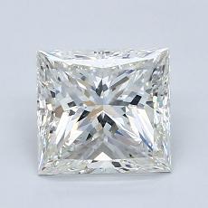 1,80-Carat Princess Diamond Very Good H SI1
