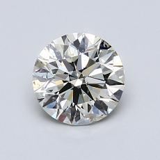 推荐宝石 1:0.96 克拉圆形切割