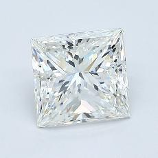 1.51-Carat Princess Diamond Very Good I VS1