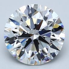 推荐宝石 4:4.01克拉圆形切割钻石