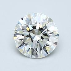 1.00 Carat 圆形 Diamond 理想 H VS1