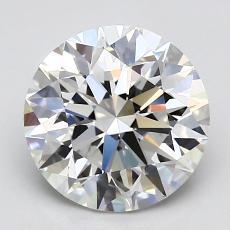 2.01 Carat 圆形 Diamond 理想 G VVS1
