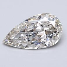 Recommended Stone #3: 1.57-Carat Pear Cut Diamond