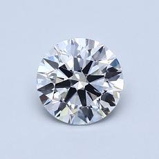 推荐宝石 2:0.77 克拉圆形切割