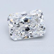 1.22-Carat Radiant Diamond Very Good D VS1