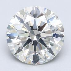 Recommended Stone #1: 3.51-Carat Round Cut