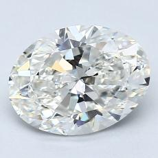 Recommended Stone #3: 1,79-Carat Oval Cut